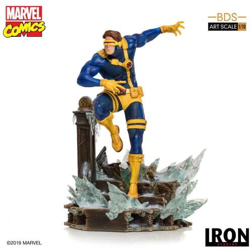 Marvel comics statuette 1 10eme bds art scale cyclops 22cm