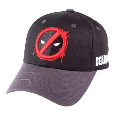 Marvel deadpool casquette forbidden splash head