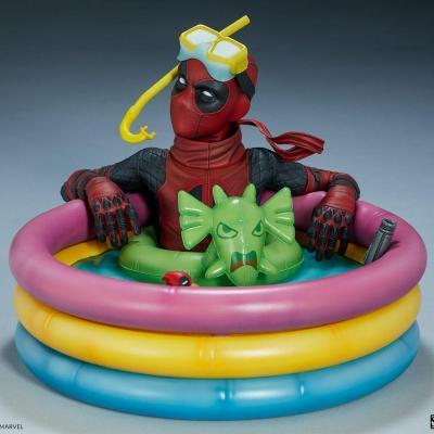 Marvel deadpool kidpool premium statue