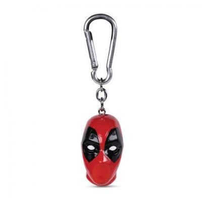 Marvel deadpool porte cles 3d