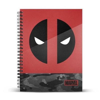 Marvel deadpool rebel cahier a4