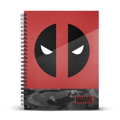 Marvel deadpool rebel cahier a5