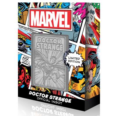Marvel doctor strange carte en metal collector