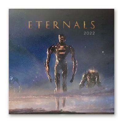 Marvel eternals calendrier 2022 30x30cm
