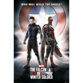 Marvel falcon the winter soldier poster 61x91cm