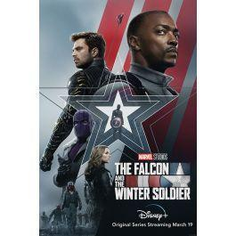 Marvel falcon the winter soldier stars poster 61x91cm