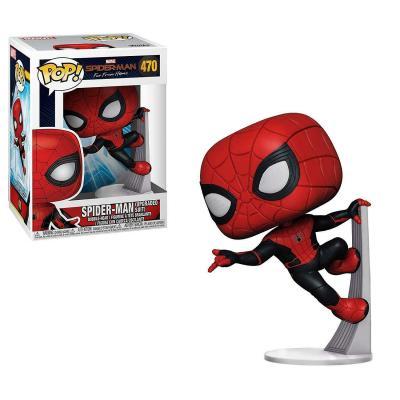 Marvel far from home bobble head pop n 470 upgraded spiderman