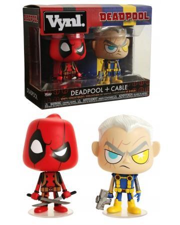 Marvel funko vynl 2 pack deadpool cable