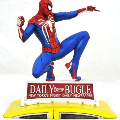 Marvel gallery spider man on taxi diorama 23cm