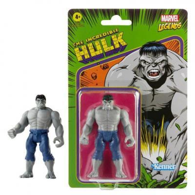 Marvel grey hulk figurine legends retro series 10cm
