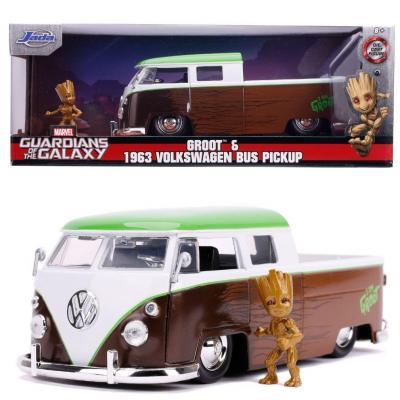 Marvel groot 1963 vw bus pickup 1 24
