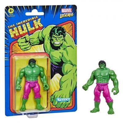 Marvel hulk figurine legends retro series 10cm