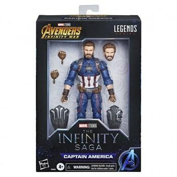 Marvel inifity saga captain america aiw figurine marvel legends