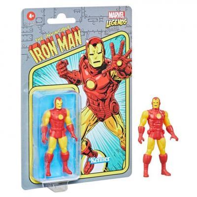 Marvel iron man figurine legends retro series 10cm