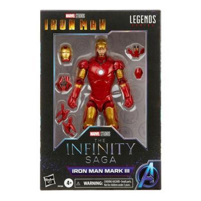 Marvel iron man mark iii figurine legends series 15cm