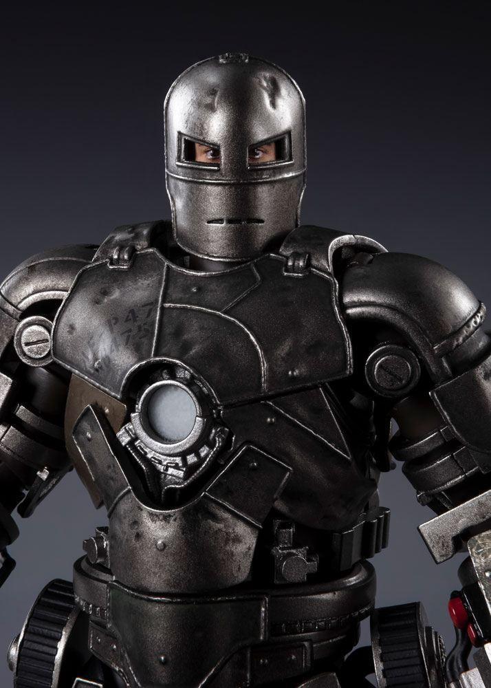 Marvel iron man mk 1 figurine s h figuarts 17cm 2