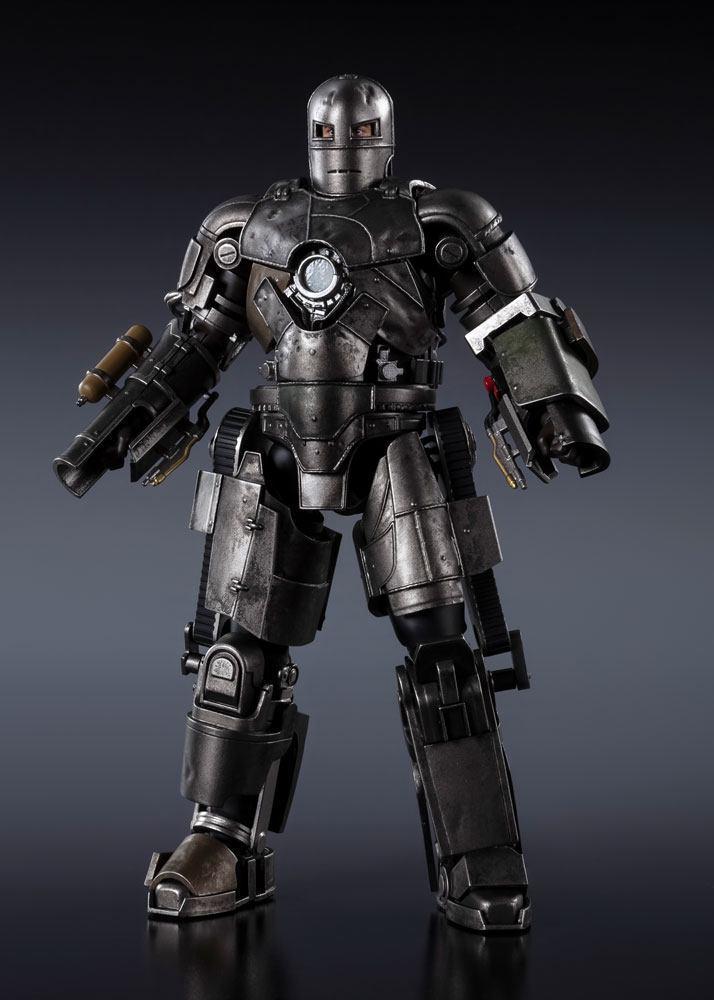 Marvel iron man mk 1 figurine s h figuarts 17cm