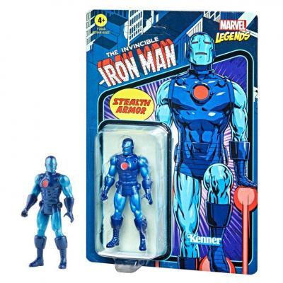 Marvel iron man stealth armor figurine legends retro series 10cm