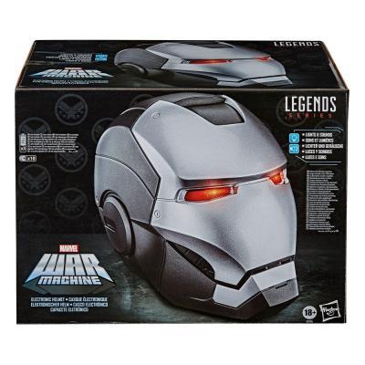 Marvel legends series war machine casque electronique