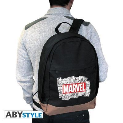 Marvel logo sac a dos 42x31x14cm