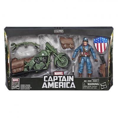 Marvel marvel legends series 2019 captain america with bike