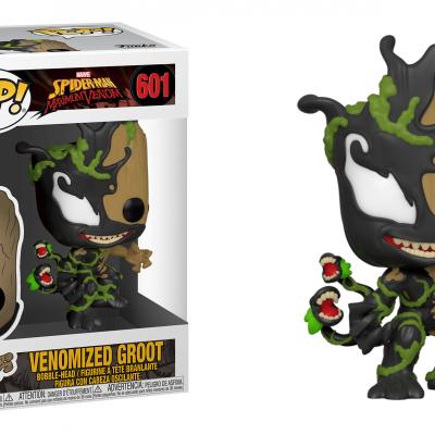 Marvel max venom bobble head pop n 601 groot