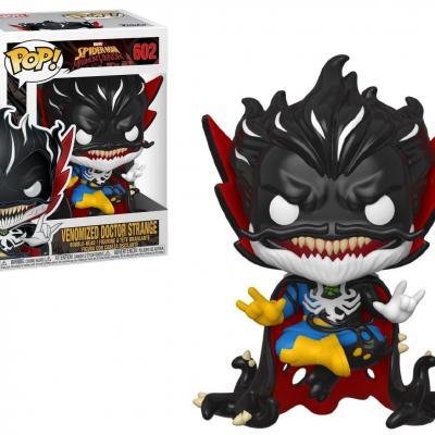 Marvel max venom bobble head pop n 602 doctor strange