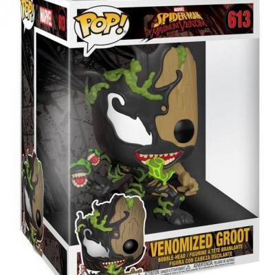 Marvel max venom bobble head pop n 613 groot oversized 10 inch