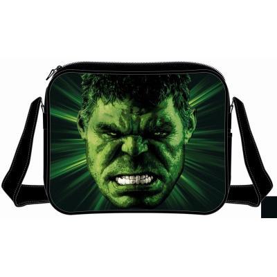 Marvel messenger bag avengers hulk big face