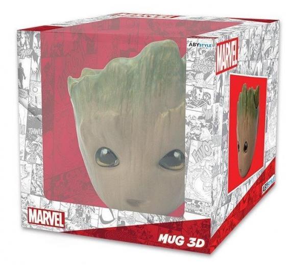Marvel mug 3d 300ml groot
