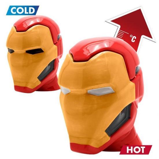 Marvel mug 3d 450 ml iron man 1