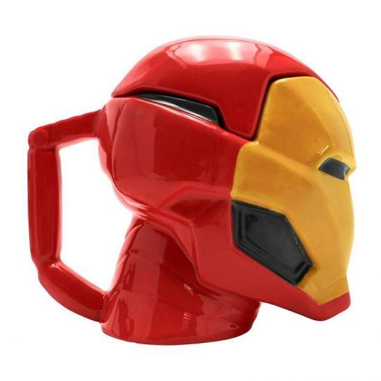 Marvel mug 3d 450 ml iron man 2