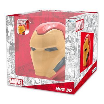 Marvel mug 3d 450 ml iron man