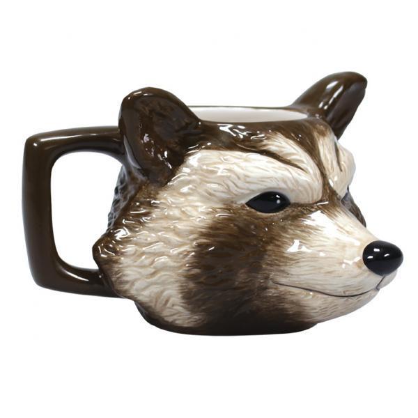 Marvel mug 3d rocket
