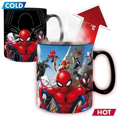 Marvel multiverse spider man mug thermoreactif 460ml