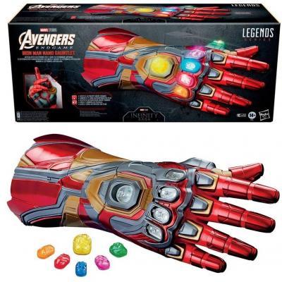 Marvel nano gauntlet iron man replique marvel legends series