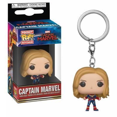 Marvel pocket pop keychains captain marvel 4cm