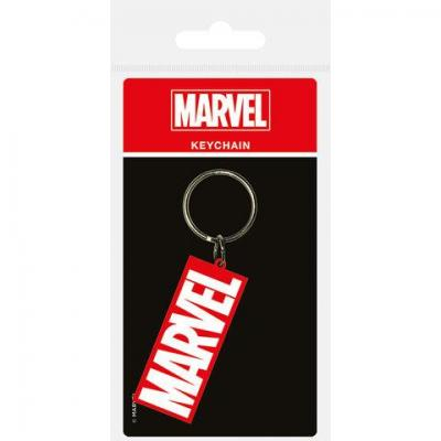Marvel porte cles caoutchouc logo 1