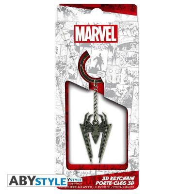 Marvel porte cles metal 3d embleme sipder man