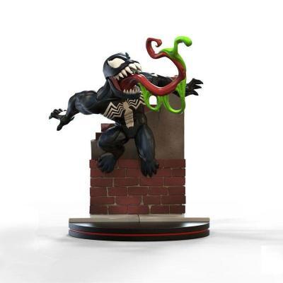 Marvel q fig 10 cm venom diorama 4d