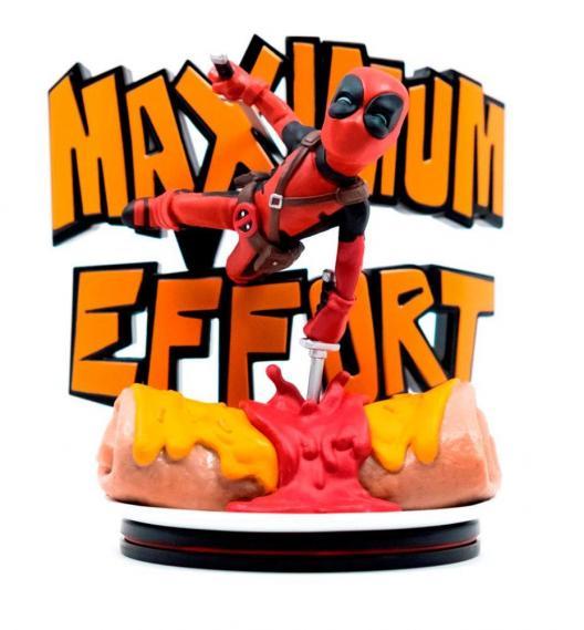 Marvel q fig 14 cm deadpool maximum effort 1