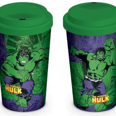 Marvel retro hulk comic mug de voyage 340ml