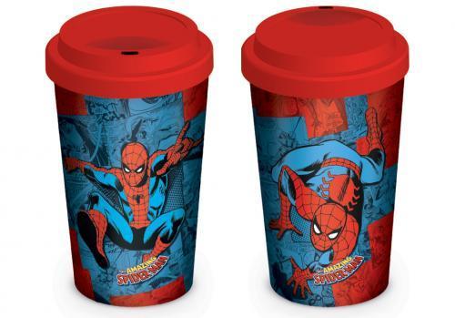 Marvel retro spider man comic mug de voyage 340ml