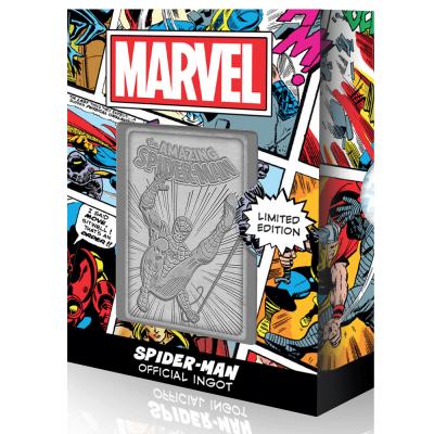 Marvel spider man carte en metal collector