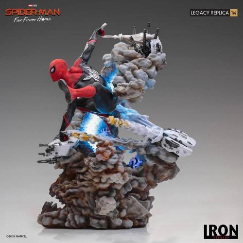 Marvel spider man far from home statuette legacy replica 60cm 1