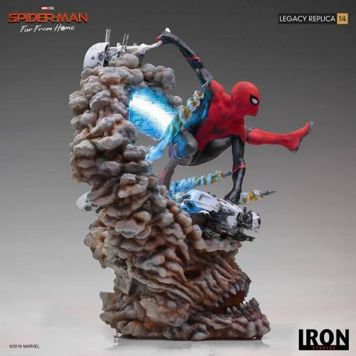 Marvel spider man far from home statuette legacy replica 60cm 2