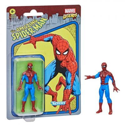 Marvel spider man figurine legends retro series 10cm