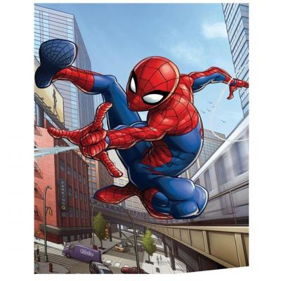 Marvel spider man plaid polaire 100 microfibre 70x140cm