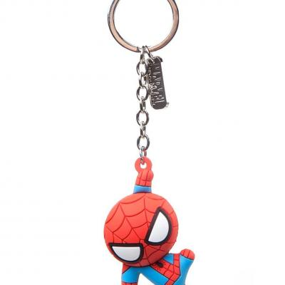 Marvel spider man porte cles en caoutchouc