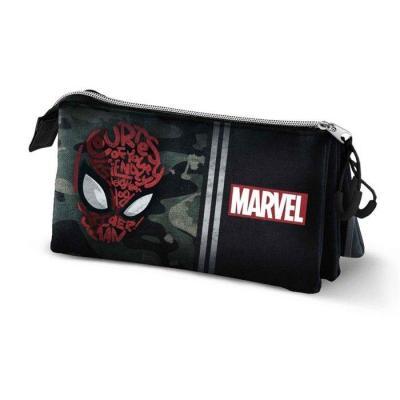 Marvel spider man trousse triple 23x10x5cm